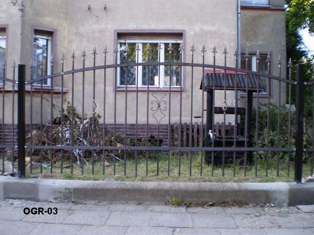 ogrodzenie stalowe